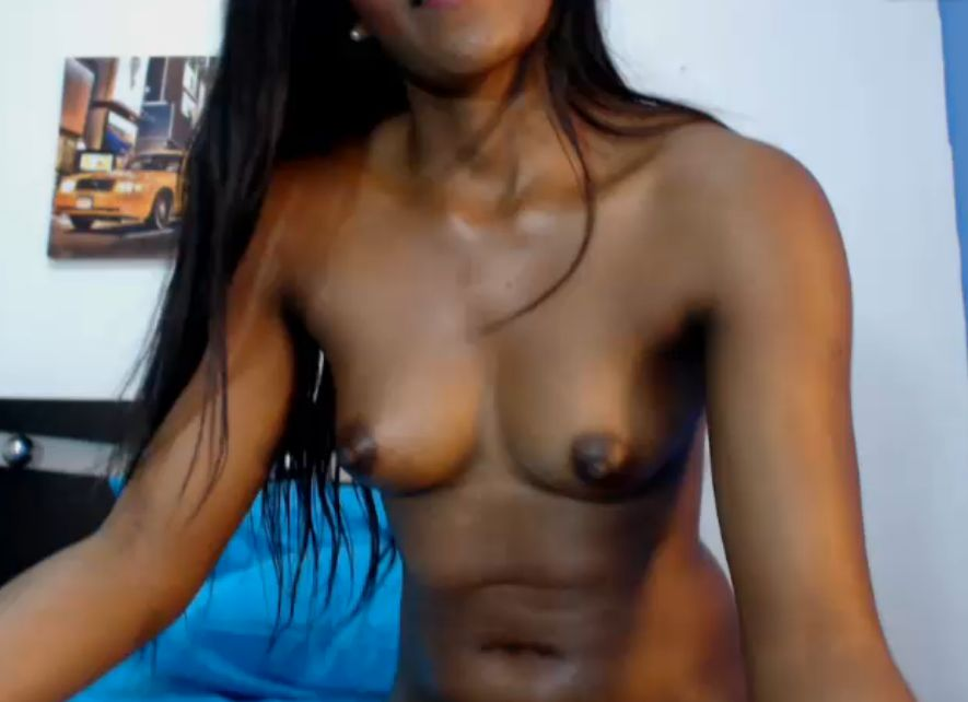 Hot black cam girl
