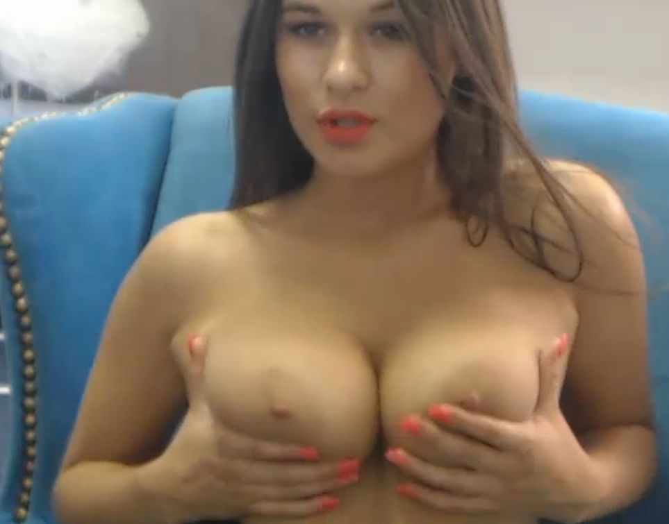 Monica with big tits